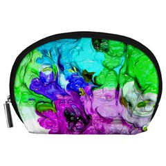 Strange Abstract 4 Accessory Pouches (Large)