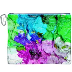 Strange Abstract 4 Canvas Cosmetic Bag (XXXL)