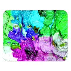 Strange Abstract 4 Double Sided Flano Blanket (Large)