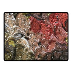 Strange Abstract 5 Fleece Blanket (Small)