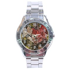 Strange Abstract 5 Stainless Steel Men s Watch