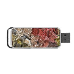 Strange Abstract 5 Portable Usb Flash (one Side)