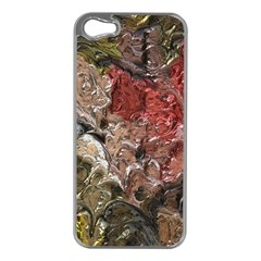 Strange Abstract 5 Apple iPhone 5 Case (Silver)
