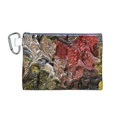 Strange Abstract 5 Canvas Cosmetic Bag (M)