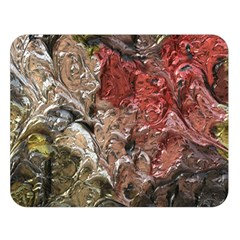 Strange Abstract 5 Double Sided Flano Blanket (Large)