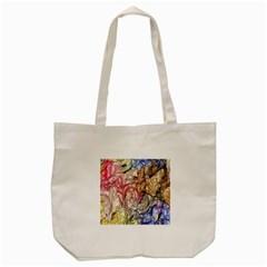 Strange Abstract 6 Tote Bag (cream)