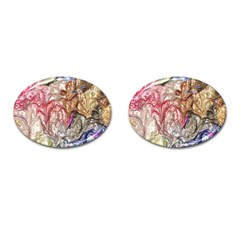 Strange Abstract 6 Cufflinks (Oval)