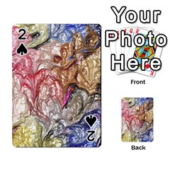 Strange Abstract 6 Playing Cards 54 Designs