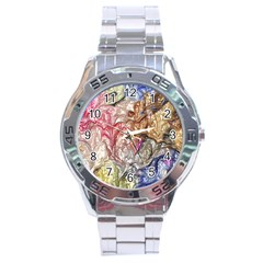 Strange Abstract 6 Stainless Steel Men s Watch