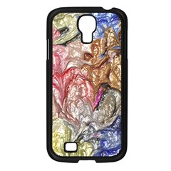 Strange Abstract 6 Samsung Galaxy S4 I9500/ I9505 Case (Black)