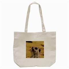 Meerkat 2 Tote Bag (Cream)
