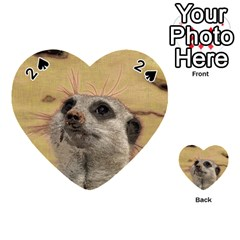 Meerkat 2 Playing Cards 54 (heart)