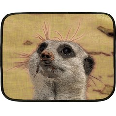 Meerkat 2 Double Sided Fleece Blanket (Mini)