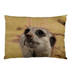 Meerkat 2 Pillow Cases (two Sides)