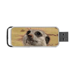 Meerkat 2 Portable Usb Flash (one Side)