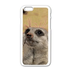 Meerkat 2 Apple iPhone 6/6S White Enamel Case