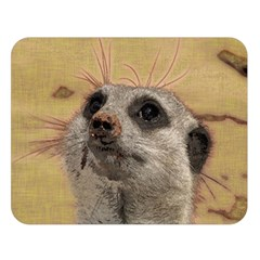 Meerkat 2 Double Sided Flano Blanket (Large)