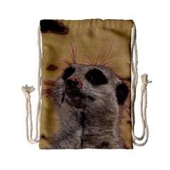 Meerkat 2 Drawstring Bag (Small)