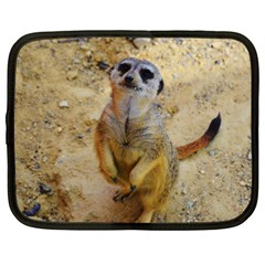 Lovely Meerkat 515p Netbook Case (XXL)