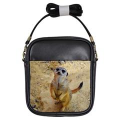 Lovely Meerkat 515p Girls Sling Bags