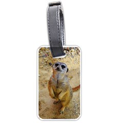 Lovely Meerkat 515p Luggage Tags (Two Sides)
