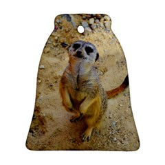 Lovely Meerkat 515p Bell Ornament (2 Sides)