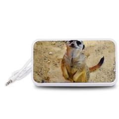 Lovely Meerkat 515p Portable Speaker (White)