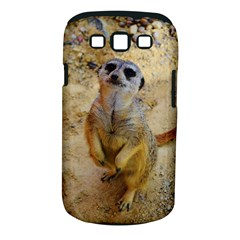 Lovely Meerkat 515p Samsung Galaxy S III Classic Hardshell Case (PC+Silicone)