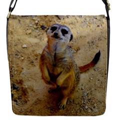 Lovely Meerkat 515p Flap Messenger Bag (S)