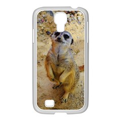 Lovely Meerkat 515p Samsung GALAXY S4 I9500/ I9505 Case (White)