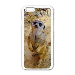 Lovely Meerkat 515p Apple iPhone 6/6S White Enamel Case