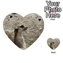 Adorable Meerkat Playing Cards 54 (heart)