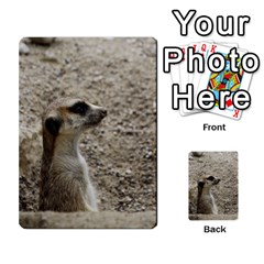 Adorable Meerkat Multi-purpose Cards (Rectangle)