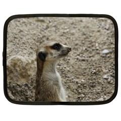 Adorable Meerkat Netbook Case (XXL)