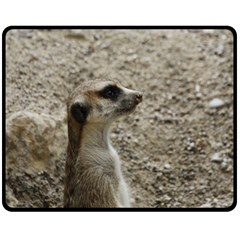 Adorable Meerkat Fleece Blanket (Medium)