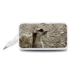 Adorable Meerkat Portable Speaker (White)