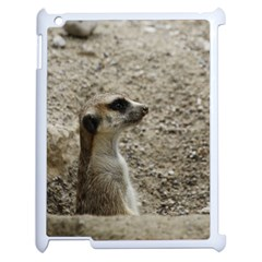 Adorable Meerkat Apple iPad 2 Case (White)