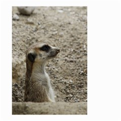 Adorable Meerkat Small Garden Flag (two Sides)