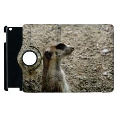Adorable Meerkat Apple iPad 2 Flip 360 Case