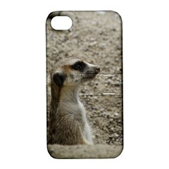 Adorable Meerkat Apple iPhone 4/4S Hardshell Case with Stand