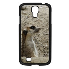 Adorable Meerkat Samsung Galaxy S4 I9500/ I9505 Case (Black)