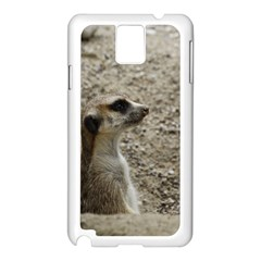 Adorable Meerkat Samsung Galaxy Note 3 N9005 Case (White)
