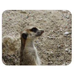 Adorable Meerkat Double Sided Flano Blanket (Medium)