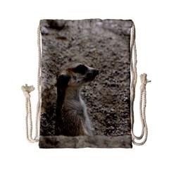 Adorable Meerkat Drawstring Bag (Small)
