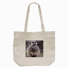 Adorable Meerkat 03 Tote Bag (cream)