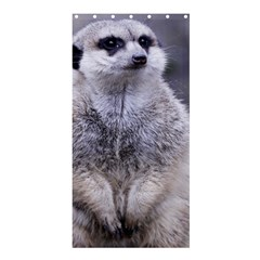 Adorable Meerkat 03 Shower Curtain 36  X 72  (stall)