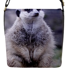 Adorable Meerkat 03 Flap Messenger Bag (S)