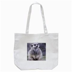 Adorable Meerkat 03 Tote Bag (White)