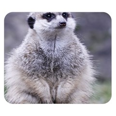 Adorable Meerkat 03 Double Sided Flano Blanket (small)