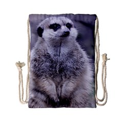 Adorable Meerkat 03 Drawstring Bag (Small)